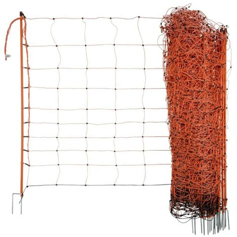 Neutral Filet électrifié pour moutons OviNet 90 cm Orange