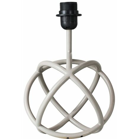 Neutron Grey Table Lamp Base