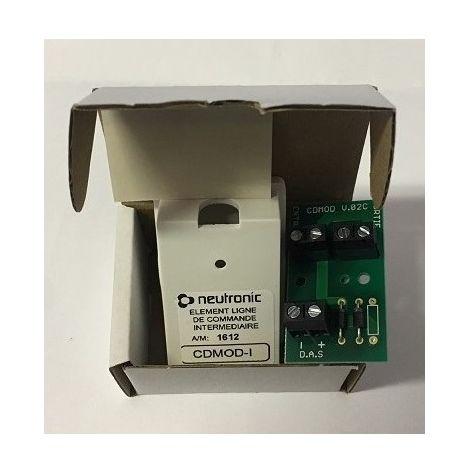 Neutronic CDMOD-1 intermediate command line item