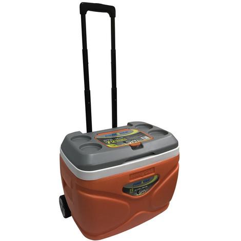 Nevera Rigida Naranja Ruedas 30 L - IGLOO - TPX3007..