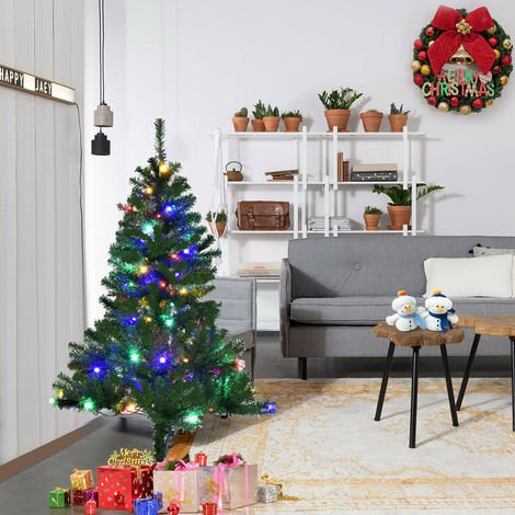 New Artificial Christmas Tree Xmas Trees Switchable LED