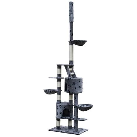 New Cat Tree Cat Scratcher Cat Bed Furniture Cuddles XL 230 - 260 cm 5 Colours
