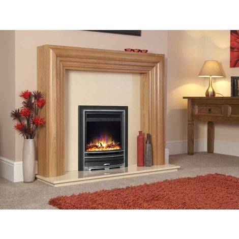 "New Designer Celsi Fire - Hearth Mounted Electric Fire 16"" Electriflame XD Arcadia Silver"