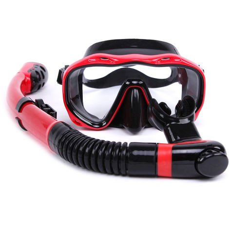 New diving suit red