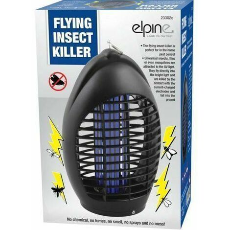"""main image of """"NEW ELECTRONIC FLYING INSECTS KILLER FLY BUG ZAPPER UV ATTRACT LIGHT PEST INDOOR"""""""