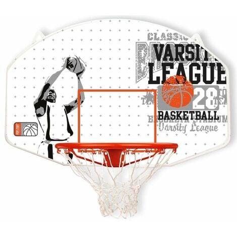 """main image of """"New Port Canasta de baloncesto aro de fibra de vidrio 16NY-WGO-Uni - Blanco"""""""