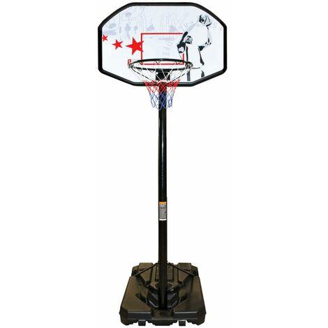 New Port Panier de basket sur pied réglable 200-305 cm