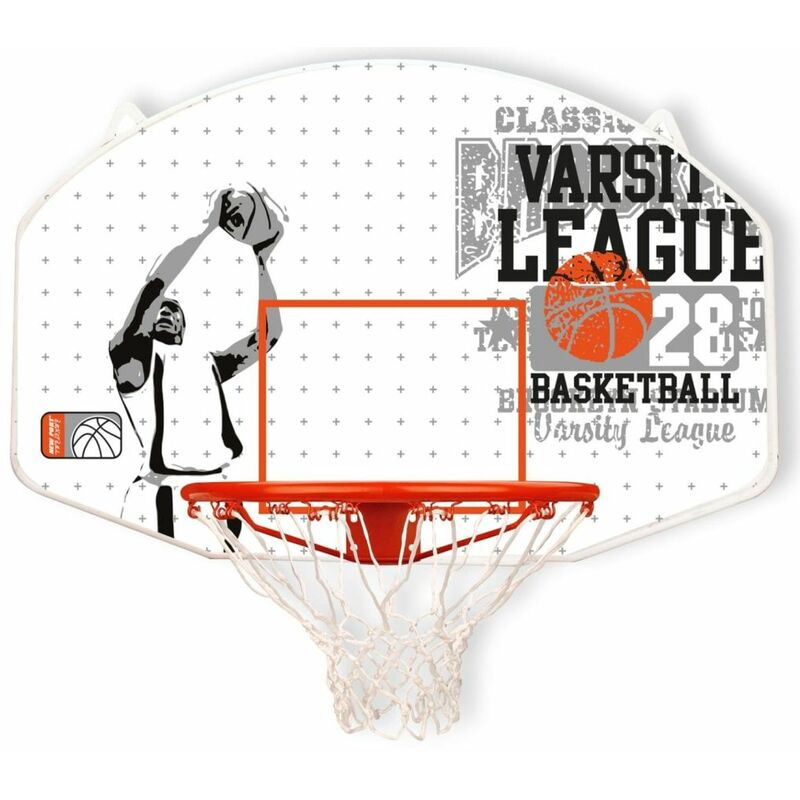True Deal - New Port Panneau de basket avec panier Fibre de verre 16NY-WGO-Uni