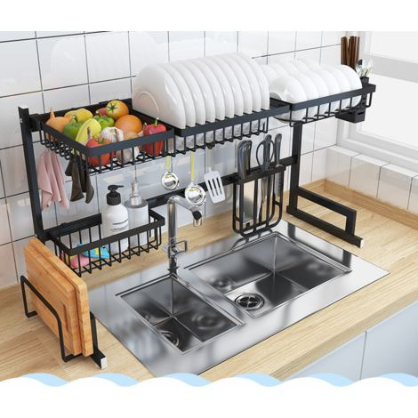 New Stainless Steel Kitchen Shelf Storage Racks