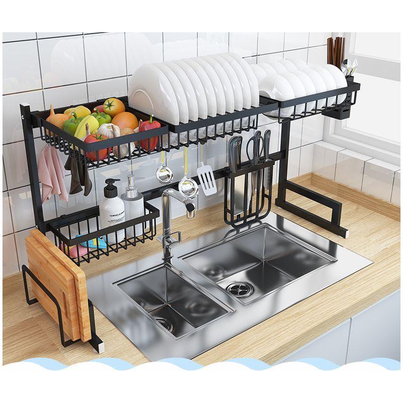 New Stainless Steel Kitchen Shelf Storage Racks Hasaki