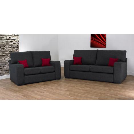 New York 3 + 2 Fabric Sofa