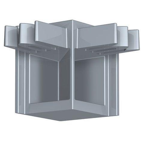 Newly R10 Raccord d'angle - Gris aluminium - Gris aluminium