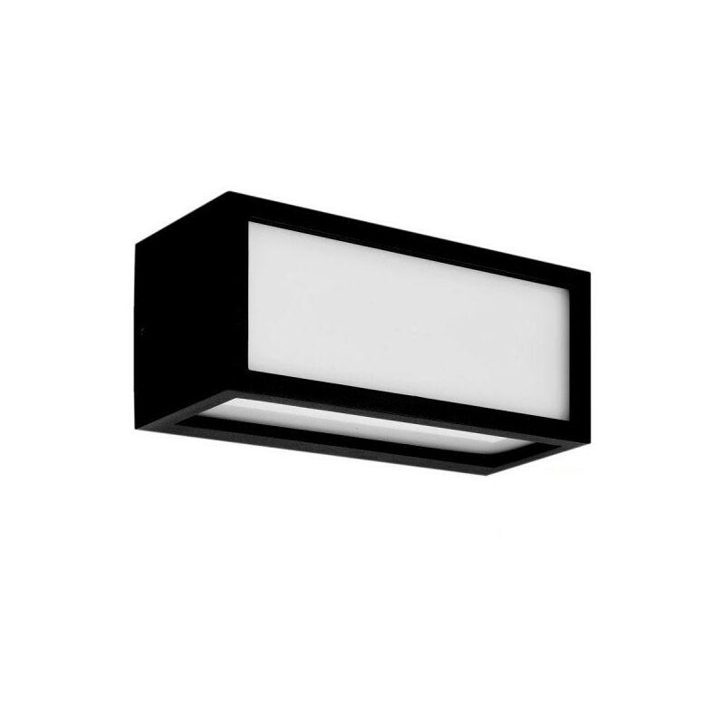 NEWPORT applique da esterno E27 Nera - ARUM LIGHTING