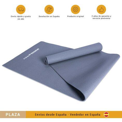 NEWPOWER-Esterilla Gimnasia de PVC (173x61cm),Antideslizante,Enrollable,Extra Gruesa con 6 mm de Grosor y Ligera con 1,25 kg