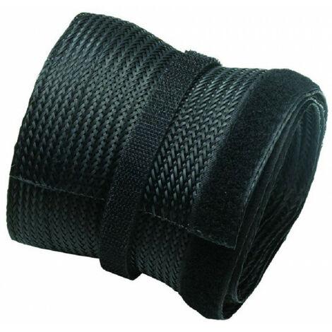NewStar Chaussette de Câble - 140 mm - 50 mm - 300 mm - 10 pièce(s) - 1 pièce(s) (NS-CS200BLACK)