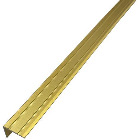 Nez de Marche Aluminium Or  24.5mm x 20 mm