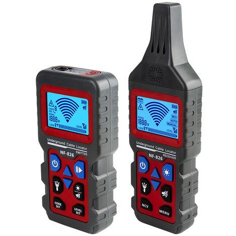 Nf-826 Portable Fil Trackers Pratique Lignes Telephoniques Locator Souterrain Fils Detecteur De Cable Professionnel Finder