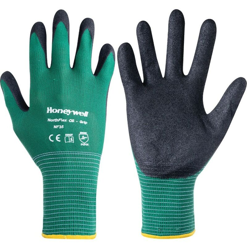 Image of NF35 Oil Grip Gloves Size 10 - Honeywell North