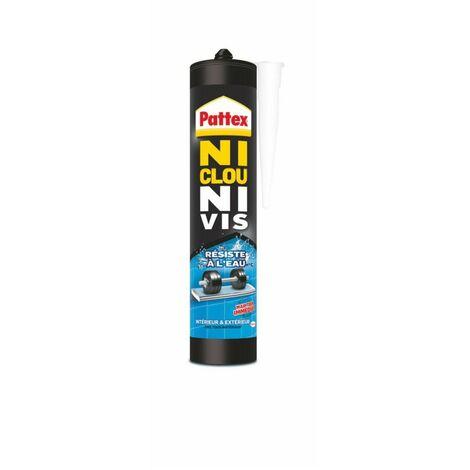 Ni clou ni Vis Resistant à L'eau Cartouche 450gr - PATTEX