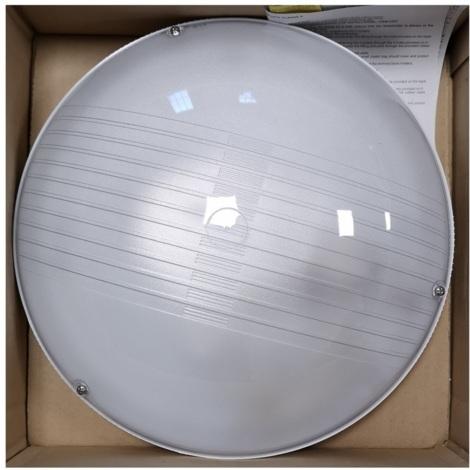 Niba 3420TRBI Hublot Pulsar 1x75W E27 IP54 Blanc (ampoule non incluse)