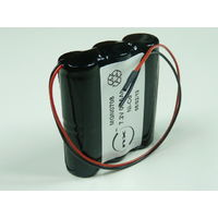 NiCd battery 6x 2/3A 6S1P ST5 7.2V 650mAh wire *NVE