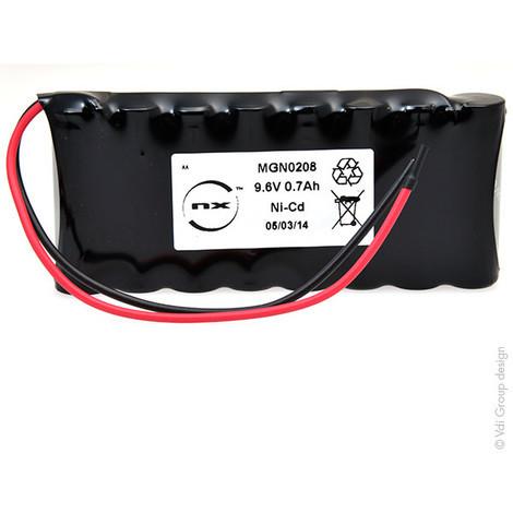 NiCd battery 8x AA 8S1P ST1 9.6V 700mAh F150