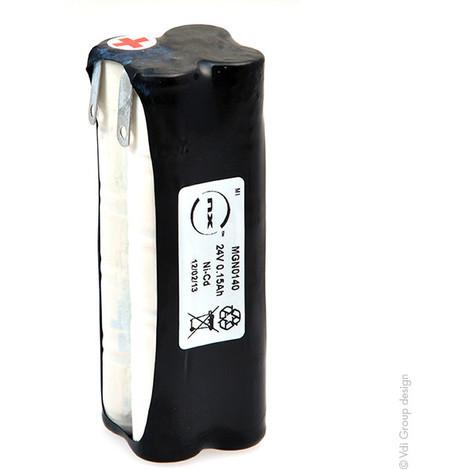 NiCd battery pack 20x 1/3AA 20S1P ST5 24V 150mAH T2