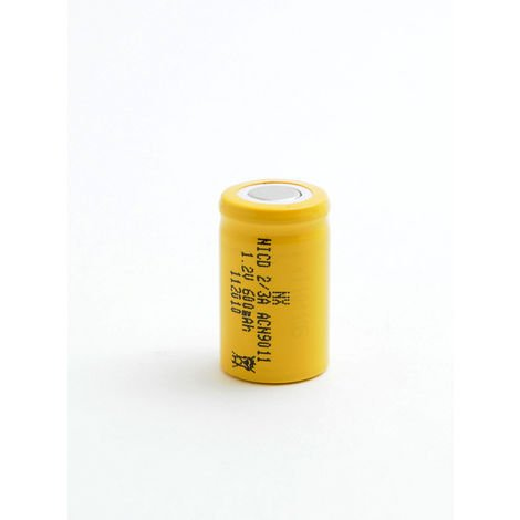 NiCd industrial battery 2/3A 1.2V 650mAh FT