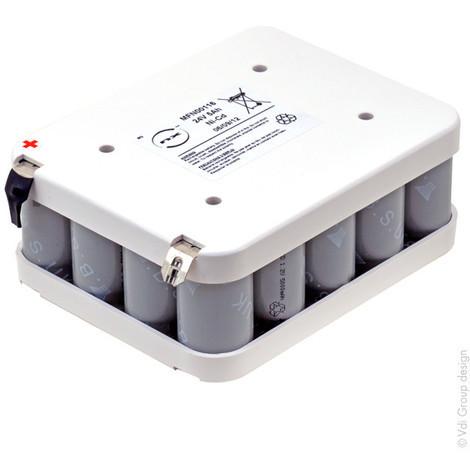 NiCd pack 20x D 20S1P ST2 24V 5Ah terminal
