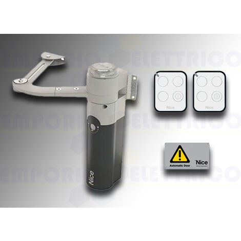 nice automation kit for swing gates walkykit 1024 bd walky1024bdkce