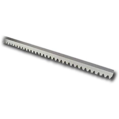"main image of ""nice cremagliera acciaio modulo 4 zincata 22x22 - 1 metro - roa7"""