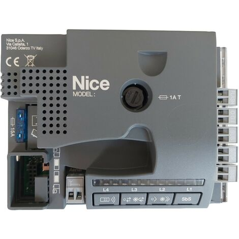 Nice Home - CL101 - Carte électronique pour motorisations Filo400 (modèles commercialisés entre 2017 et fin 2019) - Noir