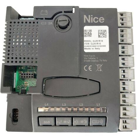 Nice Home - CL201R10 - Carte électronique pour VERSION R10 des motorisations Maestro200 - Maestro 300 - Aria200 - Aria400 - Riva200 - Noir