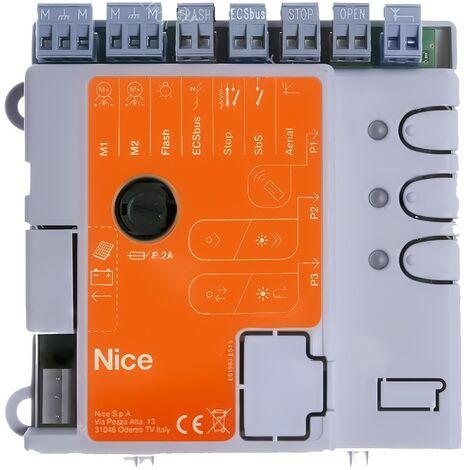 Nice Home - CL205 - Carte électronique pour motorisation de portail Maestro200 (De 2017 à fin 2019) - Noir