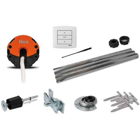 """main image of """"Nice Home - Kit Motorisation Volets Roulants filaire AXIS - RMKIT AXS 3017 - Gris"""""""