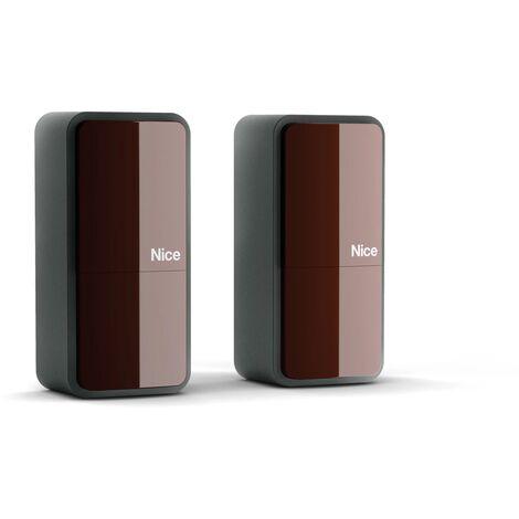 Nice Home - Photocellules sans fil pour motorisation de portail - PHW200 - Noir