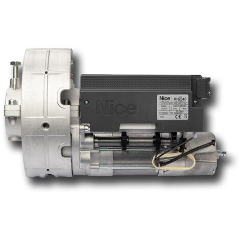 nice motoréducteur irréversible rideaux métalliques équilibrés 230v rondo rn2040