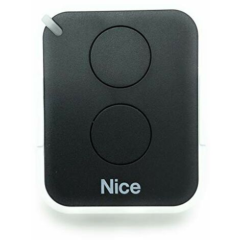 NICE - Telecommande Nice ERA ONE2 , 2 canaux, 433,92 MHz, couleur graphite - ON2