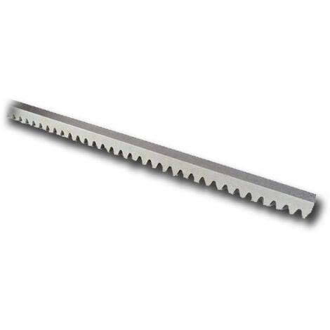 nice Zahnstange m6 30x30 Stahl run-Serie roa81