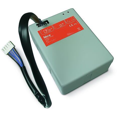 NiceHome - Batterie de secours 24V pour motorisation de portail - PR100 - Gris