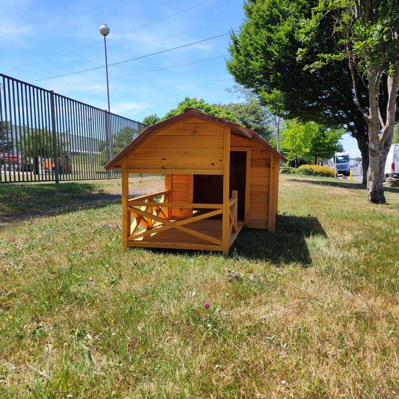 Niche Pour Chien Cheyenne Avec Terrasse