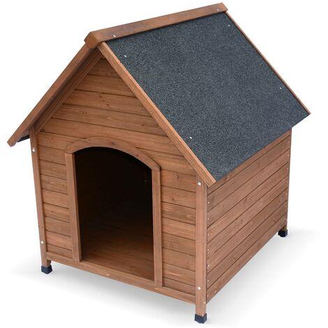Niche pour chien en bois COCKER XL, cabane pour chien 88 x 82 x 99cm