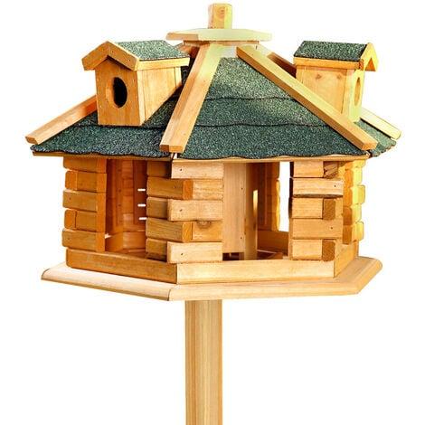 nichoir en bois alimentation en bois