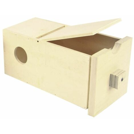 Nichoir tiroir coulissant 20,8x9,7x9,7cm ø4,5cm