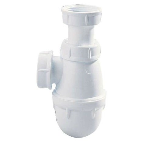 NICOLL washbasin trap - conical seal outlet - Easyphon - 32mm - 00109 T