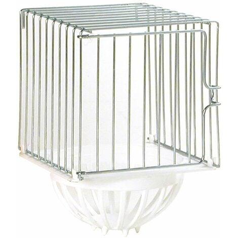 Nid d'oiseaux en fer à repasser à insérer dans les cages