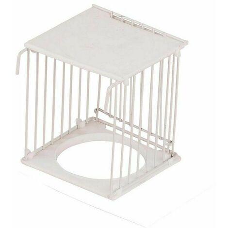 Nido para Pájaros Canarios jilgueros Caseta Exterior Alambres con Puerta