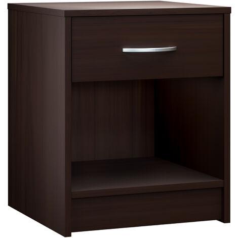 Night Stand Table Bedroom Cabinet Bedside Storage Shelf Side End Shelf Furniture