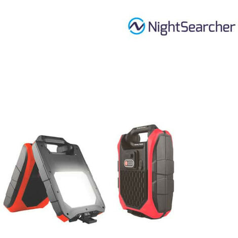 NIGHTSEARCHER LED work lamp foldable and rechargeable Galaxy 1500 lumens