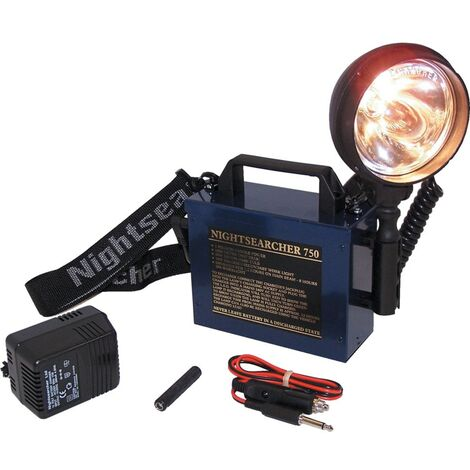 Nightsearcher Rechargeable Hand Lamp NS750